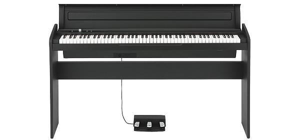 (お取り寄せ)KORG LP180BK コルグ デジタルピアノ LP-180BK(黒)(長期安心保証対象商品)お届けは玄関先までとなります