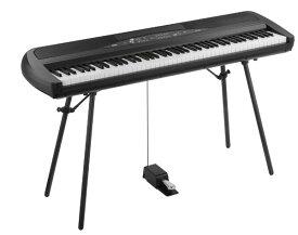 (お取り寄せ)KORG SP-280 BK(SP280BK)コルグ デジタルピアノ*スタンド付属(組立必要)