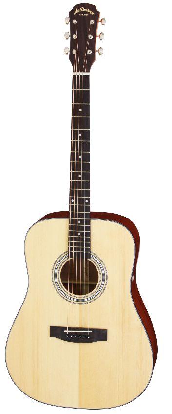 (お取り寄せ)(特典満載)Aria Dreadnought AD-211 N/Natural アリアドレッドノート アコースティックギター
