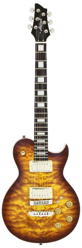 (在庫あり)(購入特典つき)AriaProII PE-480BS(Brown Sunburst) アリアプロ2 エレキギター *ソフトケース付属