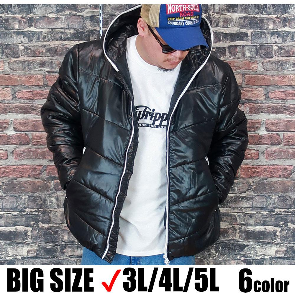 送料無料 メンズ 大きいサイズ アウター ダウン 3L 4L 5L XL XXL XXXL XXXXL パーカー フード 黒 赤 青 紺 黄 迷彩 カモ ブラック レッド ブルー ネイビー イエロー おしゃれ 暖かい 大人 30代 40代 50代