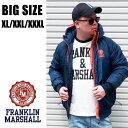 FRANKLIN&MARSHALL 送料無料 大きいサイズ メンズ ブランド XL XXL 3XL 2L 3L 4L アウター ナイロン ダウン 中綿 ライトアウター 春 秋 冬 インポート フランクリンアンドマーシャル JKMF542AN