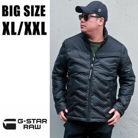 送料無料 メンズ 大きいサイズ ブランド ジースター アウター ダウン XL XXL 2L 3L ブラック 黒 G-STAR RAW ジースターロウ gstar インポート 海外ブランド 国内正規品 【Attacc Down Jacket D14004-B507-6484】