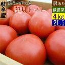 減農薬 名人が作った トマト 訳あり 4kg箱 麗月 岐阜県飛騨 とまと 送料無料