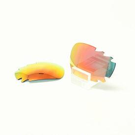 GOODMAN LENS MANUFACTUREグッドマンレンズマニュファクチャーOAKLEY JAWBONE&RACINGJACKETオークリー ジョーボーン&レーシングジャケット用交換レンズ[グレー/オレンジミラー]