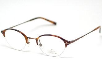 克莱顿富兰克林眼镜框架 CF589 BR (金 / 兰演示镜头)