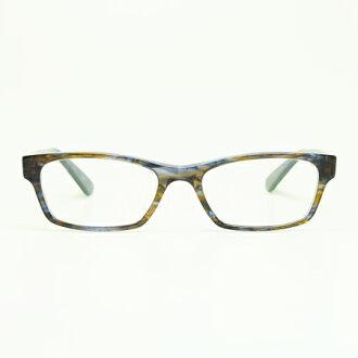 MASUNAGA眼镜架子光辉KOOKI 017-15 BL/BR(斗牛犬棕色/清除透镜)