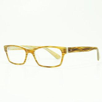MASUNAGA眼镜架子光辉KOOKI 017-23 BR/WH(棕色白/清除透镜)