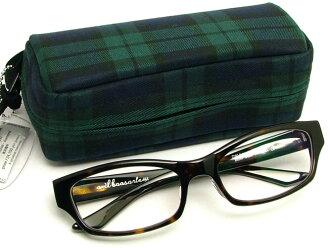 오울루 무료 렌즈 세트 안경 프레임 [boasorte] Bijou-ビジュ BS-002 (ブラウントートイズ/하드 멀티 클리어)