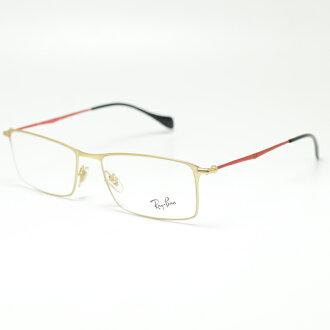 雷朋眼镜框架 RB6290 2785 (金 / 红/demolens)