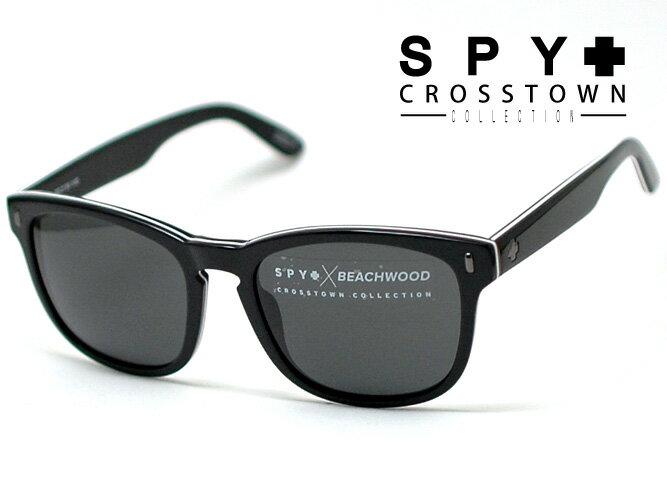 スパイ【SPY】サングラス SPY CROSSTOWN COLLECTIONクロスタウンコレクションBEACHWOOD(ビーチウッド) X JOEL TUDORBE3K00(3プレイドブラック/グレー)