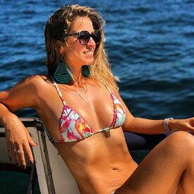 インポートビキニ 水着 三角水着 レディース ビキニ ブラジリアンビキニ フラミンゴ 通販 ハワイ グアム 海 ビーチ 海外旅行 かわいい トレンド