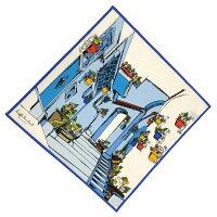 Kinloch(キンロック)ホワイト/マラケシュ/スカリナータハンカチイタリア製ハンカチネッカチーフスカーフギフトプレゼント敬老の日
