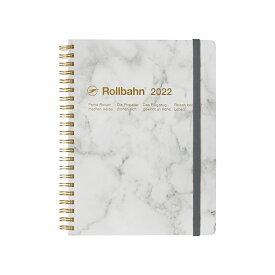 【手帳2022 公式通販 DELFONICS(デルフォニックス)】ロルバーン ダイアリー ストーン A5(ホワイト)