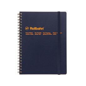 【公式通販 DELFONICS(デルフォニックス)】ロルバーン ポケット付メモA5(ダークブルー)