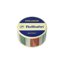 【公式通販 DELFONICS(デルフォニックス)】ロルバーン マスキングテープ ロルバーン(B(ポケット付メモ))
