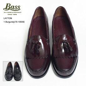 【再入荷】G.H.BASSジーエイチバス【LAYTON】レイトン70-10934/70-10939Black/Burgundyローファー レザーシューズ メンズ 靴