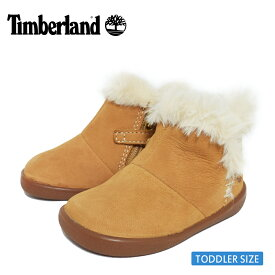 Timberlandティンバーランド【TB0A27FP763】TREE SPROUT WL BOOTIEWheat NubuckWhite / Spruce Yellowトドラー キッズ シューズ 靴 ブーツ イエロー カーキ ホワイト