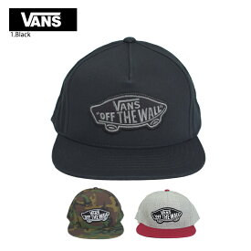 VANS APPARELバンズ アパレル【VN000TLSBLK/VN000TLS97I/VN000TLSJTD】CLASSIC PATCH SNAPBACKクラシック パッチ スナップバックメンズ キャップ 帽子