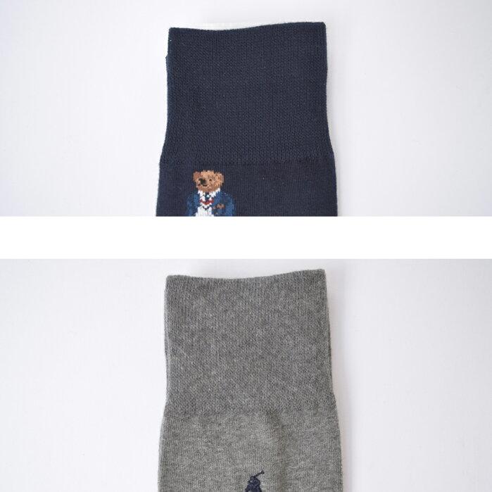 メール便PoloRalphLaurenポロラルフローレン【899819PK】メンズ靴下ソックス2足セットハイソックスビジネス父の日彼氏ギフト