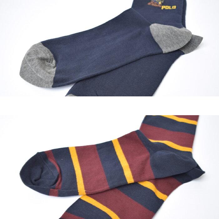 メール便PoloRalphLaurenポロラルフローレン【899894PK】メンズ靴下ソックス2足セットハイソックスビジネス父の日彼氏ギフト