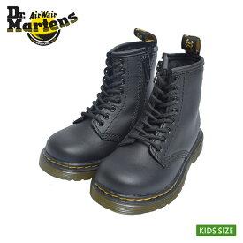 Dr.Martens ドクターマーチン 【R15373001】 1460 TODDLER SOFTY TBLACKキッズ ジュニア 子供用 シューズ 靴ブラック 黒 レザーブーツ