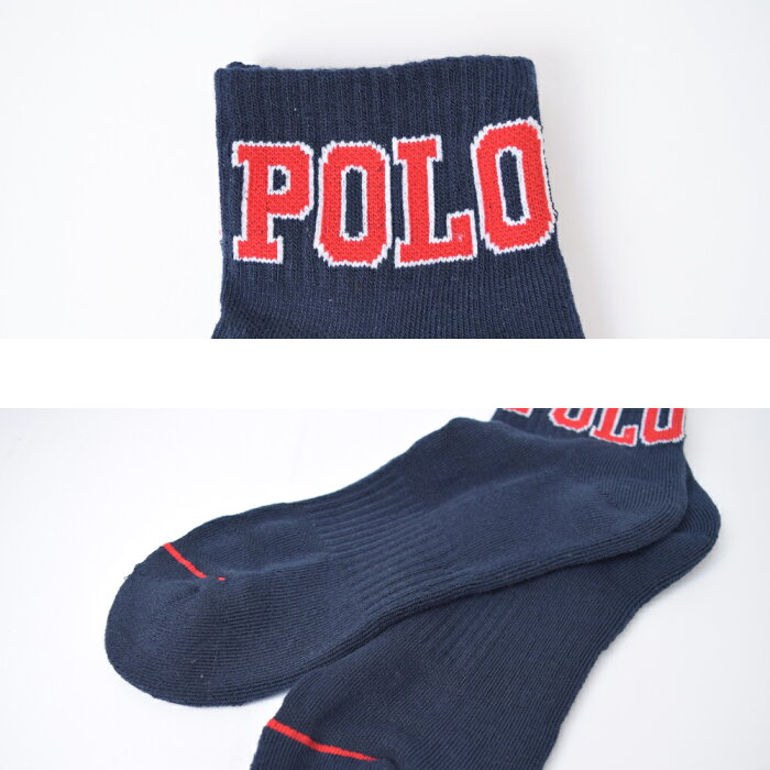 PoloRalphLaurenポロラルフローレン【824370PK】メンズ靴下ソックス6足セットアンクルソックスくるぶし父の日彼氏ギフト