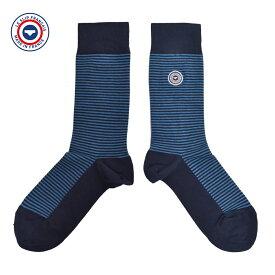 メール便LE SLIP FRANCAISル スリップ フランセSocks ソックスRayees BleuetMEN メンズ 靴下 ブルー ネイビー福4