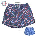 LE SLIP FRANCAISル スリップ フランセ【Swim Shorts】French Flags / Tropcal Blueメンズ 男性用 水着 スイ...