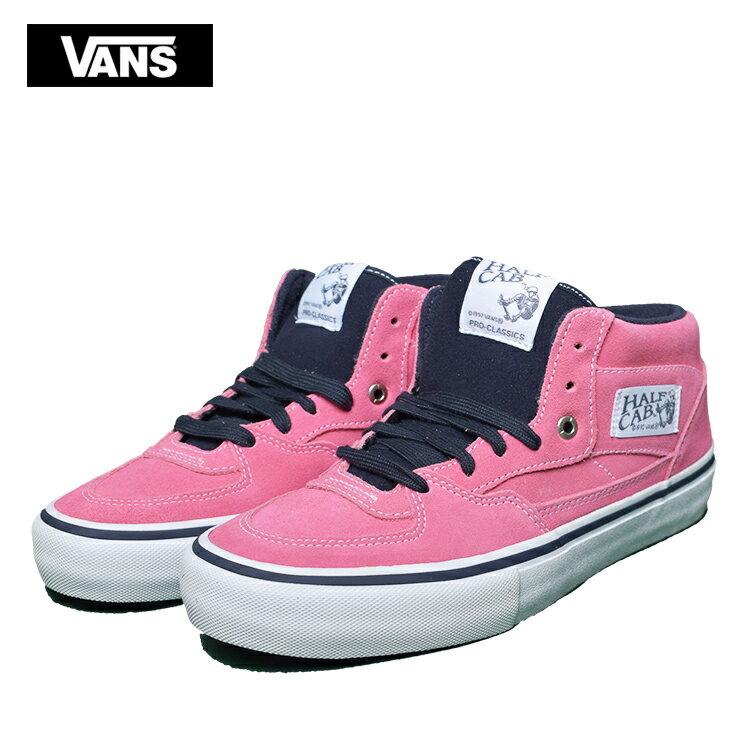 VANS MENSバンズ/ヴァンズ メンズ【VN0A38CPUO6】HALF CAB PROPINK LEMONADE SUEDEハーフキャブ プロ ピンク レモネード スエードメンズ スニーカー 靴