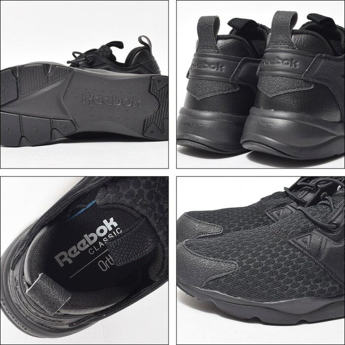 REEBOKリーボック【AR2783】FURYLITE/フューリーライトBlack/Blackメンズ・靴・スニーカー2016FA