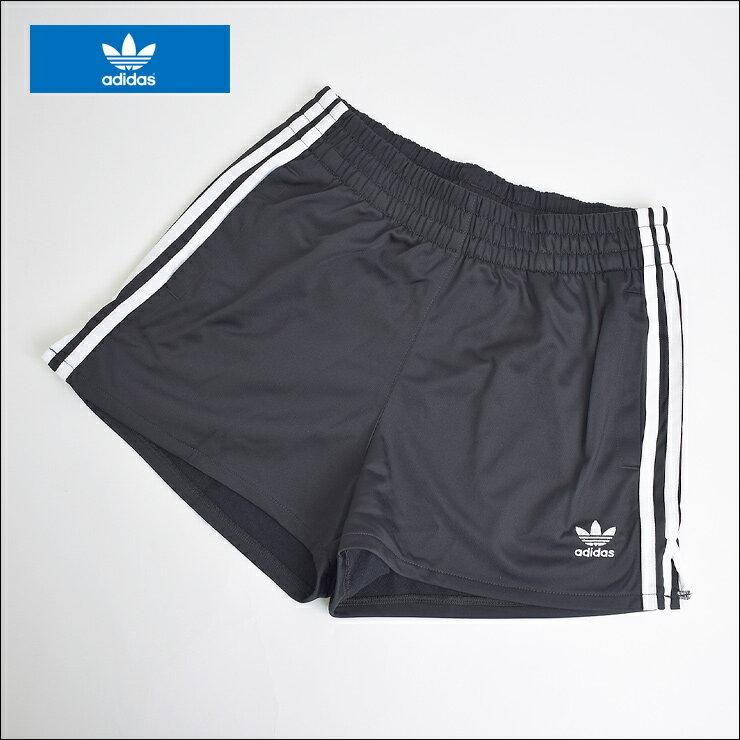 【メール便】adidas original FA'18アディダス オリジナルス【DH3197】3 STRIPES SHORTSレディース ショーツ ショートパンツ Black