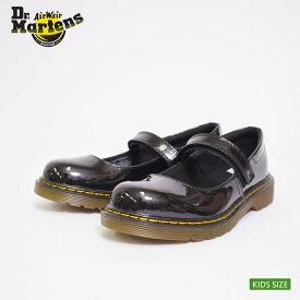 Dr.Martens KIDSドクターマーチン キッズ【R15655002】MACCY JBLACK/ブラックエナメル/メリージェーンキッズ・子供用シューズ・靴