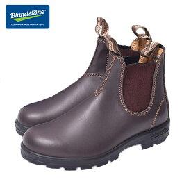 BLUNDSTONE (ブランドストーン)#550 Walnut Brown ウォールナット ブラウン メンズ・男性用サイズサイドゴアブーツ ショートブーツ