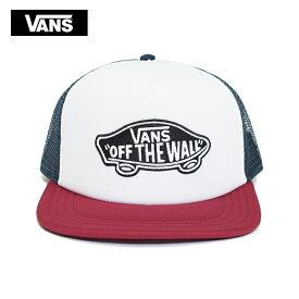 VANS APPARELバンズ アパレル【VN000H2VTD3】CLASSIC PATCH TRUCKERWHITE/RHUMBA REDメンズ レディース 帽子 キャップ トラッカー