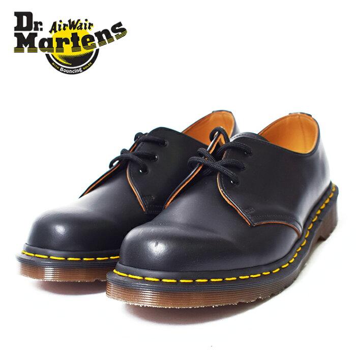 Dr.Martensドクターマーチン【R12877001】Vintage1461BLACKQUILONメンズレザーシューズブラック黒MADEINENGLAND