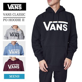 ★VANS APPARELバンズ アパレル【VN0A456BY28/VN0A456BADY/VN0A456BKJ7/VN0A456BK1O】VANS CLASSIC PO HOODIE IIフーディー パーカーメンズ 長袖 スウェット