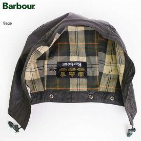 BARBOURバブアー【MHO0004SG91】Waxed Cotton HoodSageワックスドコットンフード セージメンズ アウター 取付フード