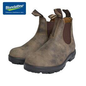 BLUNDSTONE (ブランドストーン)#585/RUSTIC BROWN /ラスティックブラウンユニセックス メンズ レディースサイドゴア ブーツショート ワークブーツ
