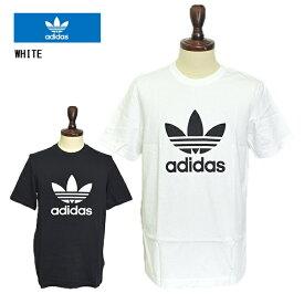 【メール便】adidas originals TREFOIL TEEアディダス オリジナルス【 CW0709 CW0710 】トレフォイルTメンズ 半袖 TシャツBLACK WHITE ブラック ホワイト