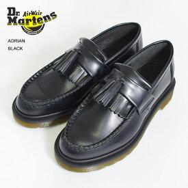 Dr.Martensドクターマーチン【R24369001】ADRIANBlack Polished Smoothエイドリアン ブラックメンズ レディース 靴 ドレスシューズ ローファー