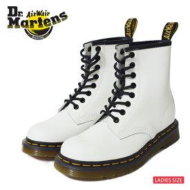 35fd2652e49516 Dr.Martensドクターマーチン【R11822100】1460WHITE SMOOTHウィメンズ レディス ブーツブーツ ホワイト 白