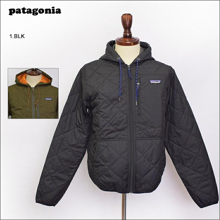 PATAGONIA FA'18パタゴニア【27610】Men's Diamond Quilted Bomber Hoodyメンズ ダイアモンド キルト ボマー フーディメンズ アウター ダウンジャケット ナイロンジャケット