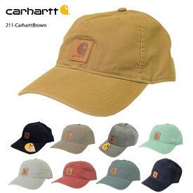 CARHARTTカーハート【100289】Men's Odessa Capコットン キャンバス キャップ゛ ハット 帽子