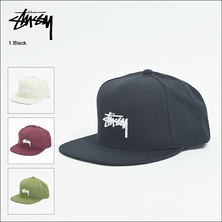 STUSSYステューシー【131745】STOCK CAP SNAPBACKメンズ 帽子 キャップ