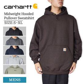 CARHARTTカーハート【K121】Men's Midweight Hooded Pullover Sweatshirtメンズ ミッドウェイト フード スウェットシャツプルオーバー パーカー