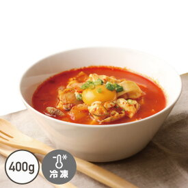 スンドゥブチゲの素(400g) [簡単!豆腐を入れるだけ!]【でりかおんどる】