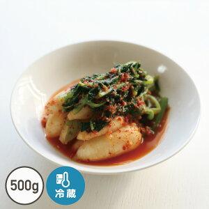 チョンガク「ミニ大根」キムチ(500g)【でりかおんどる】