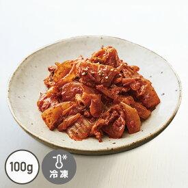 豚肉入りキムチ炒め【レンジでチン!】【手作りキムチ】【でりかおんどる】