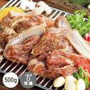 豚カルビ(500g)[骨付きカルビ][韓国焼肉]【でりかおんどる】